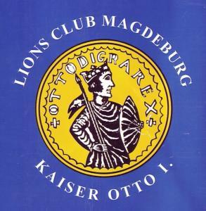Logo Lions Club Magdeburg - Kaiser Otto I.