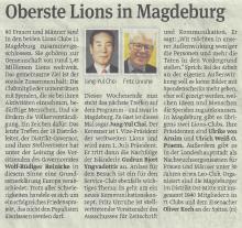 Oberste Lions in Magdeburg